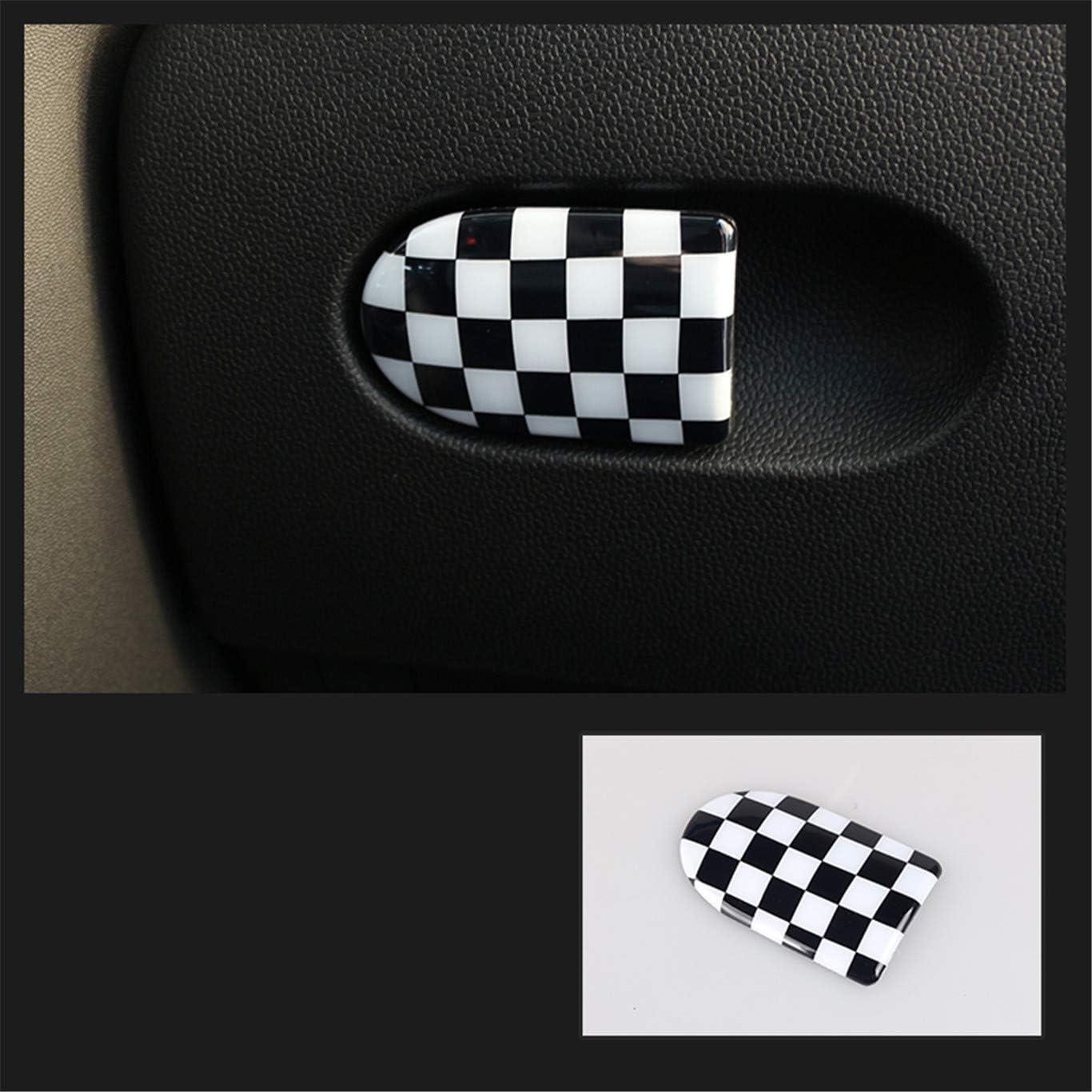 HDX Cubierta para Puerta de Caja de Almacenamiento ABS para Mini Cooper F54 Clubman F55 Hardtop F56 Hatchback F57 Covertible F60 Countryman