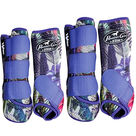 Professionals Choice Elite Ventech Horse 4 SMB Boots Turquoise All Sizes