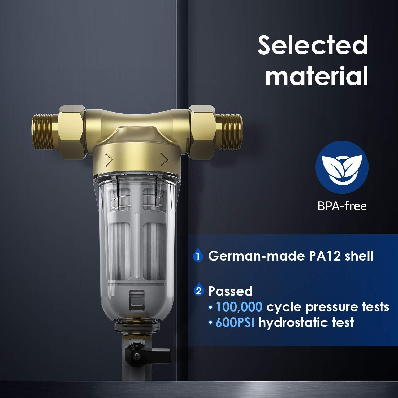 Ronaqua WD-RPFK Spin Down Sediment Filter