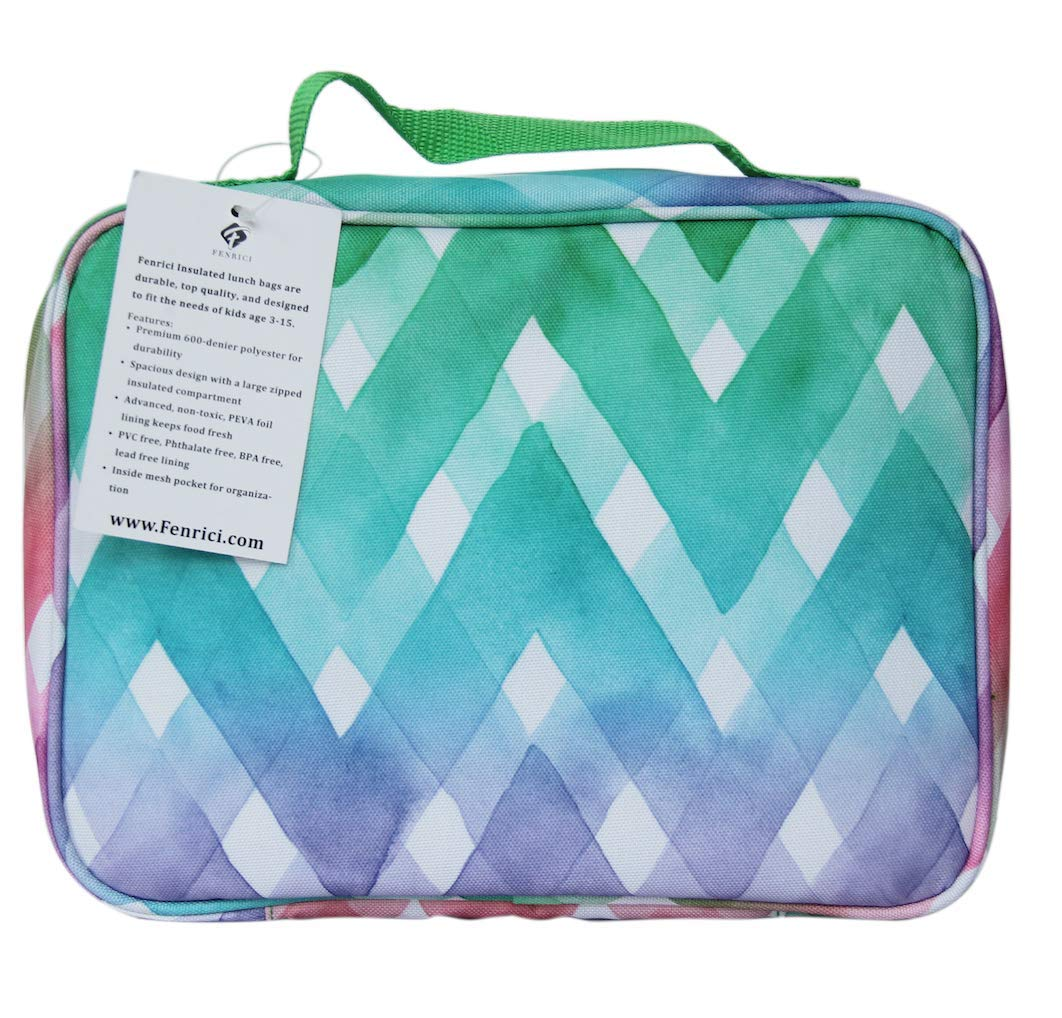 """Kids Lunch Box for Elementary School Boys and Girls by Fenrici 
