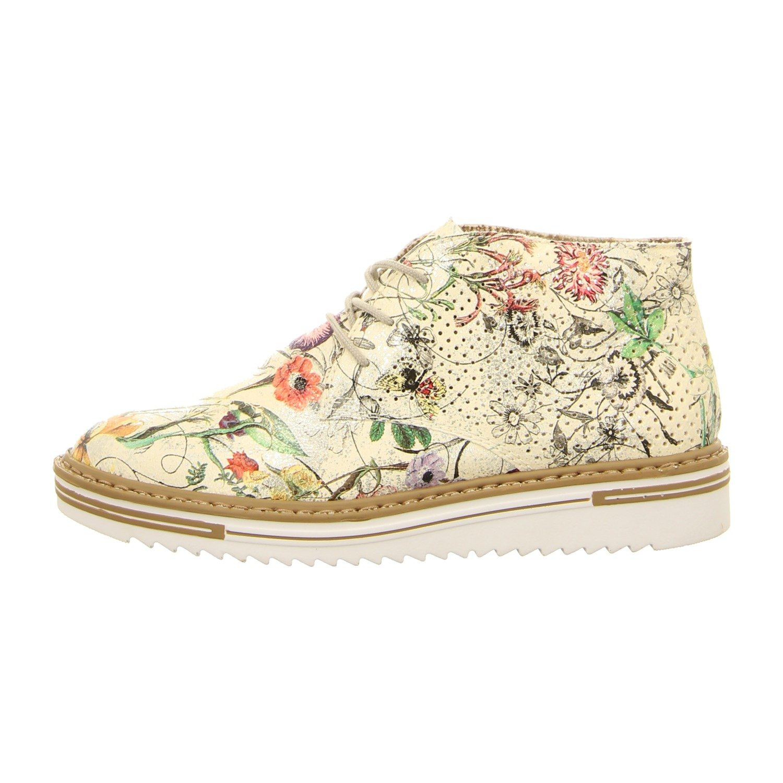 Rieker Mujeres Zapatos con Cordones Plata, (Ice-Multi) M5535-90 38 EU|ice-multi