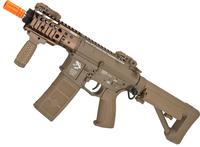 Amazon.com: Evike G&P FRS CQB M4 SBR Airsoft - Rifle ...