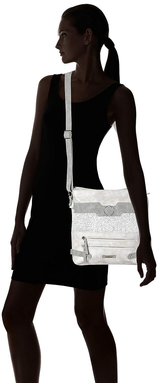Rieker Damen H1346 Tasche 6x28x28 cm