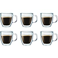 6-Pack Bodum 10604106US Bistro Coffee Mug 10 Ounce