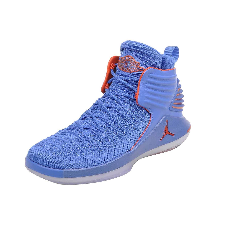 new arrival c7b3d 8557c Amazon.com   Nike Youth Air Jordan 32 BG AA1254 400 Blue Orange   Basketball