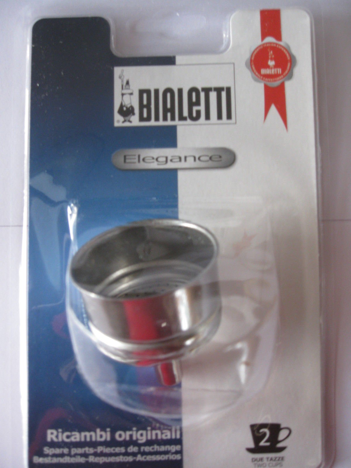 Bialetti: Elegance 2-Cup Replacement 1 Funnel [ Italian Import ]