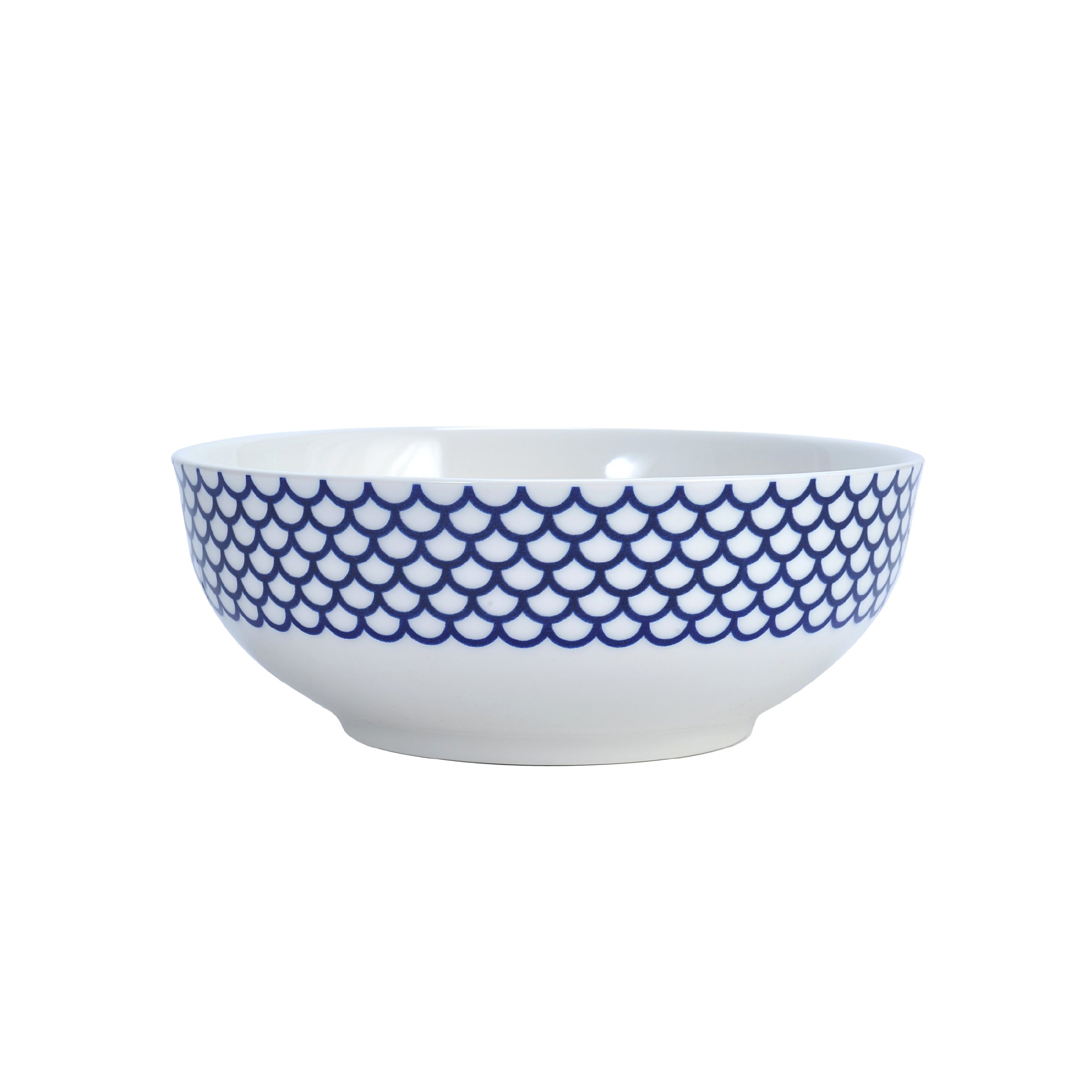 Mikasa Lavina White Vegetable Bowl, 9.5-Inch