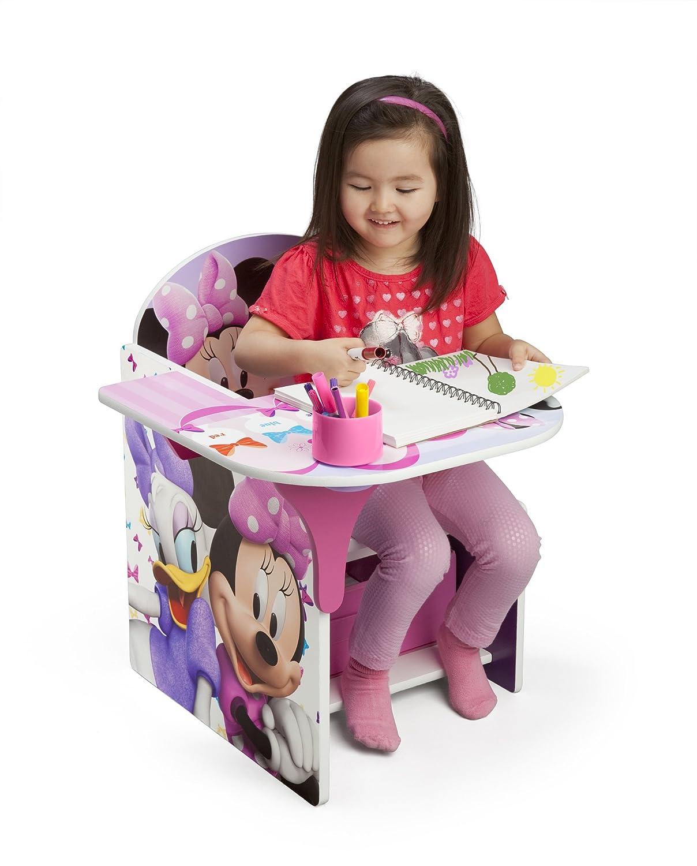 amazon com delta children chair desk with storage bin disney rh amazon com minnie mouse desk set minnie mouse desk set