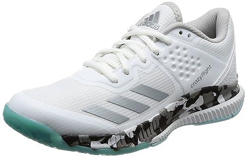 size 40 1e5f0 15479 Adidas Crazyflight Bounce W, Scarpe da Pallavolo Donna, Bianco  (FtwblaNocmét