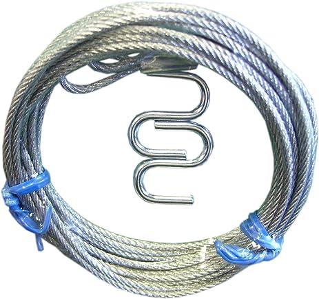 Ideal Security Inc Sk7135 Garage Door Latch Cables Galvanized