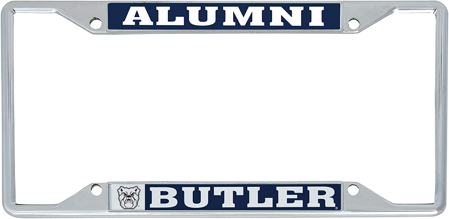 Desert Cactus Butler University Bulldogs NCAA Metal License Plate Frame for Front or Back of Car Officially Licensed (Alumni)