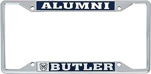 Desert Cactus Butler University Bulldogs NCAA Metal License Plate Frame for Front or Back of Car Officially Licensed (Alumni)