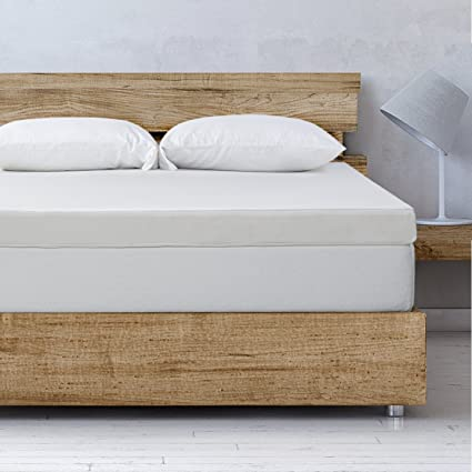 Amazon.com: Best Price Mattress Queen Mattress Topper   4 Inch