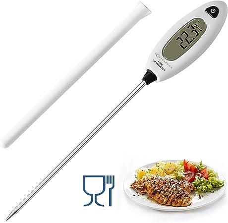Mycarbon Thermometre De Cuisson Longue Sonde De Temperature