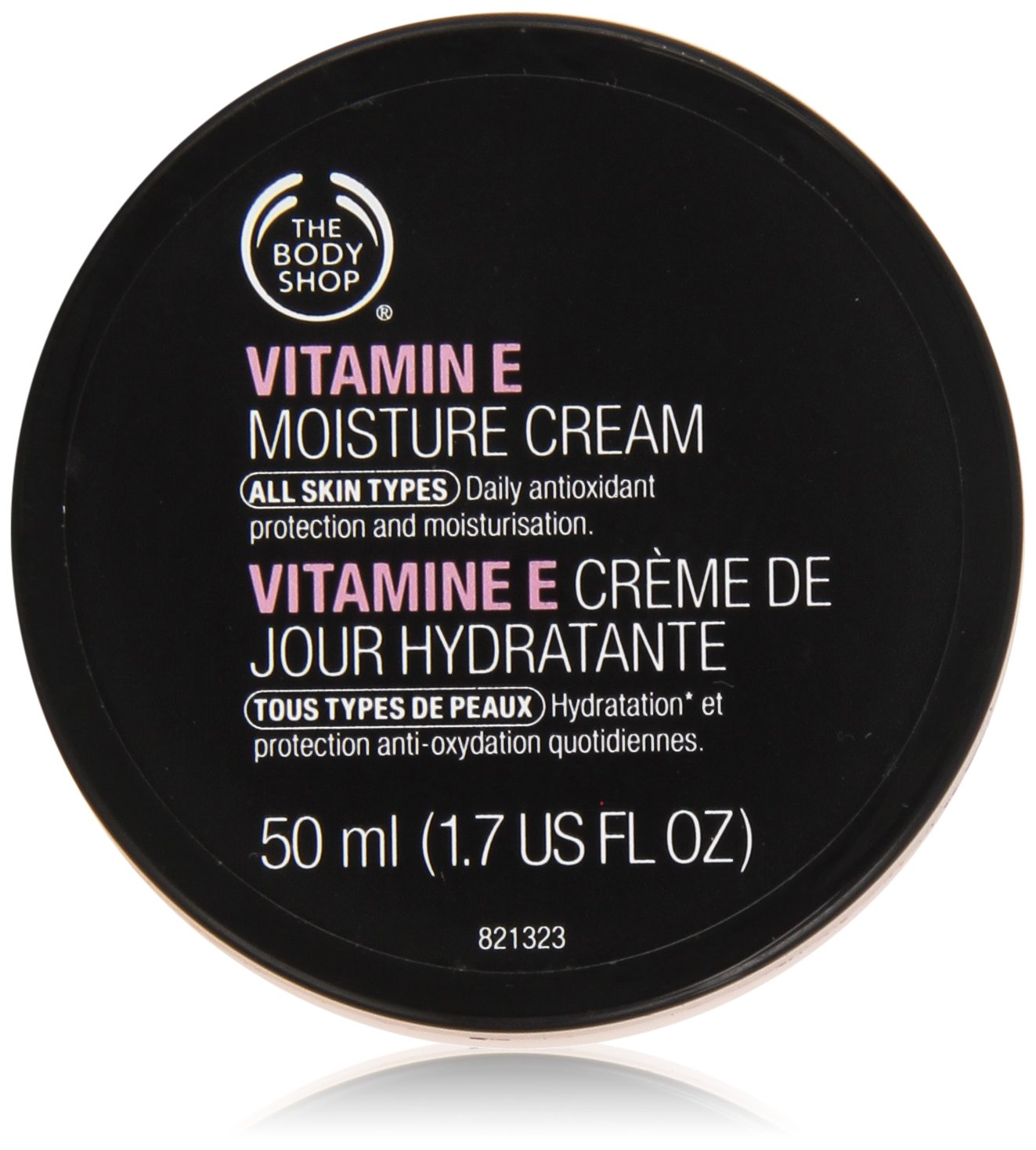 The Body Shop Vitamin-E Moisture Cream for Unisex, 1.7 Ounce