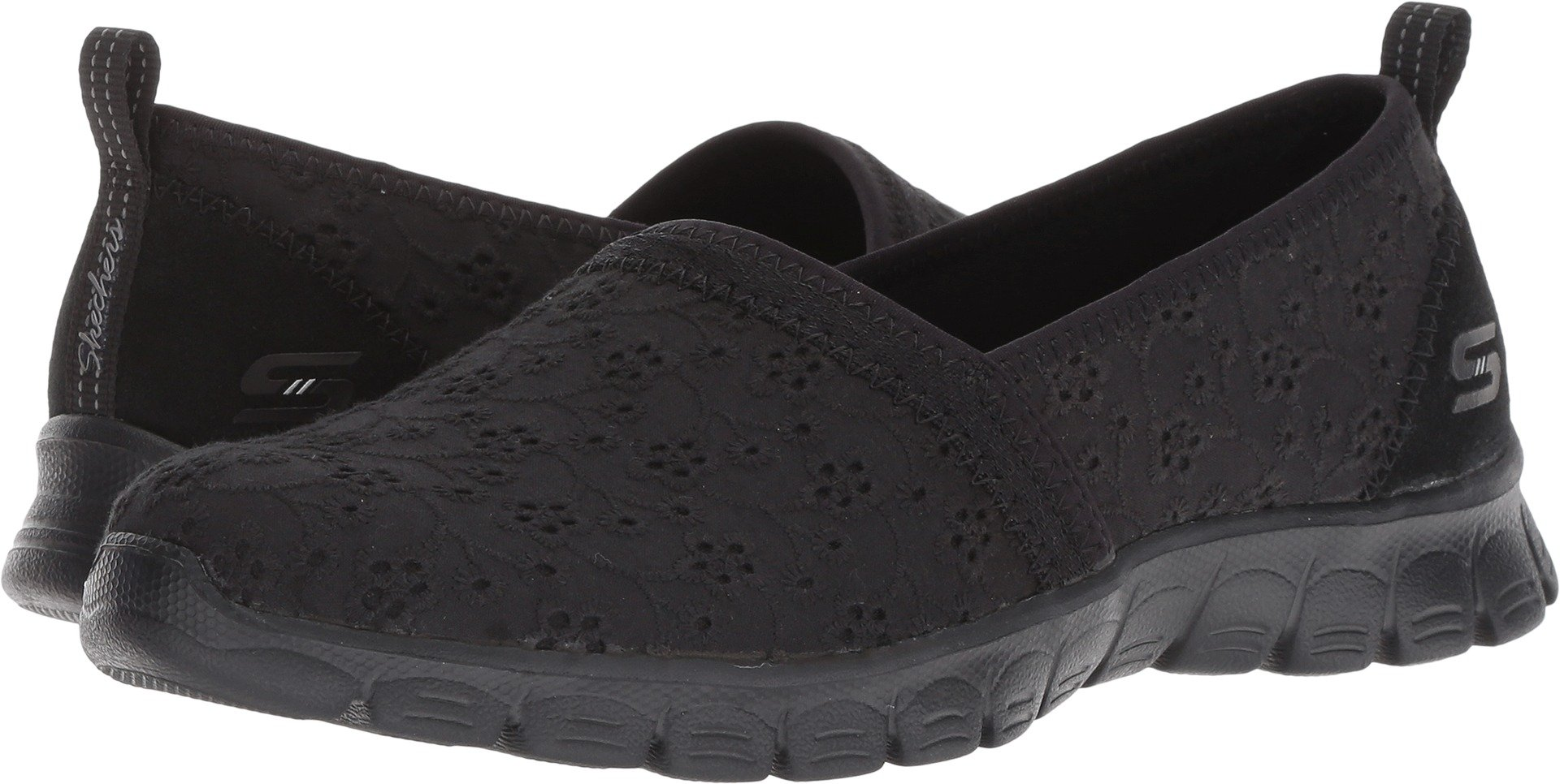Skechers Ez Flex 3.0 Kindred Spirit Womens Slip On Sneakers,Black,9