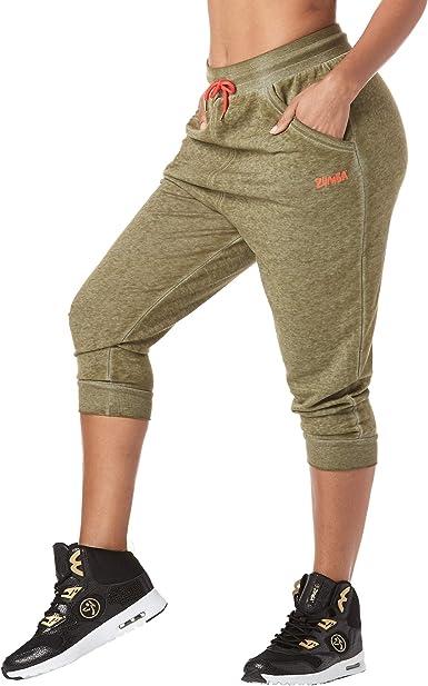 Amazon Com Zumba Activewear Pantalones De Entrenamiento Para Mujer Clothing