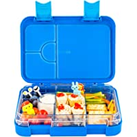 Snack Attack Bento Box or Lunch Boxes for Kids by Snack Attack 4 & 6 Convertible Compartments | Portion Lunch Box | Food…