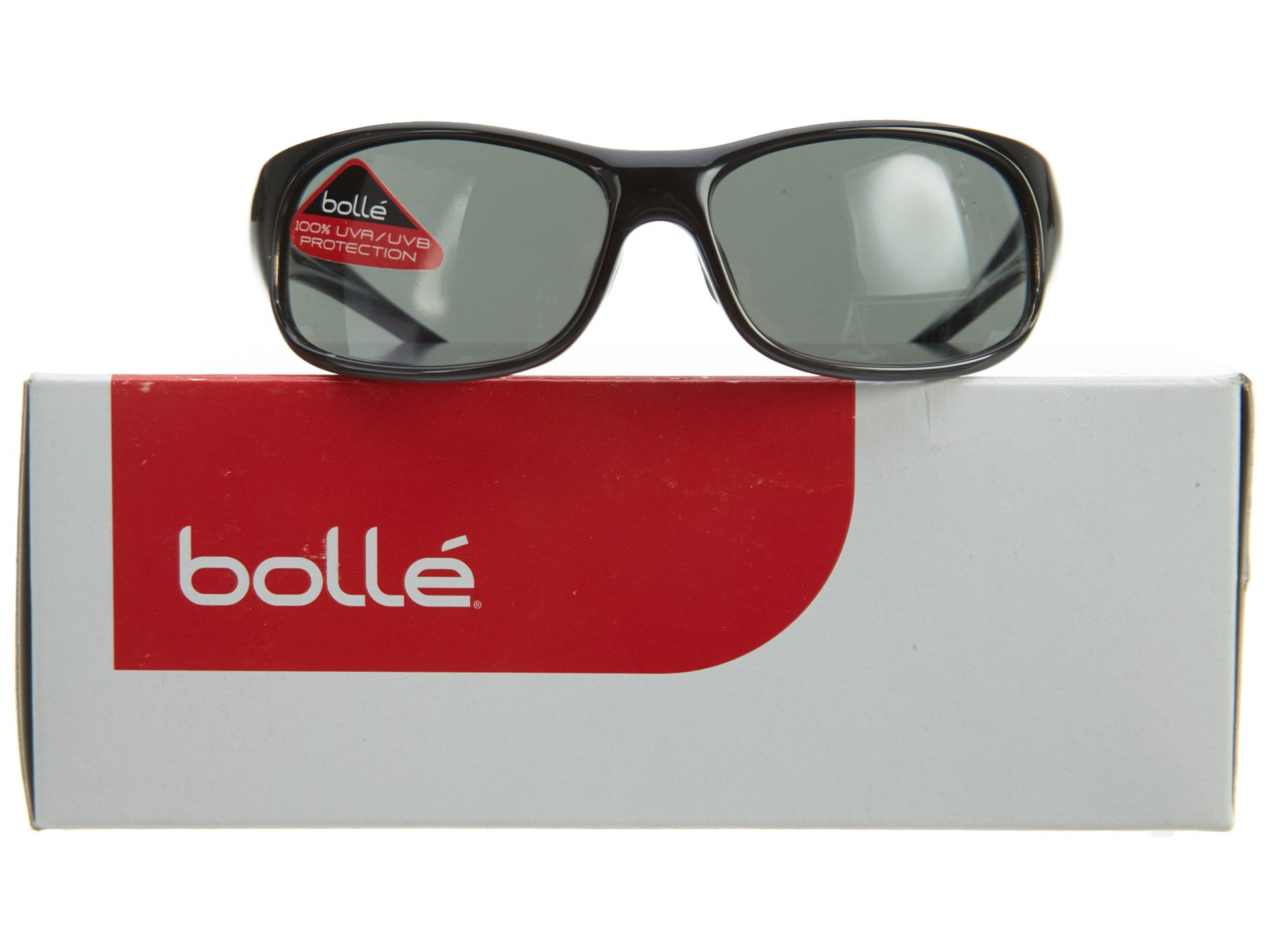 Bolle Kids Recoil Junior Sunglasses (Shiny Black-Gray Fade, TNS)