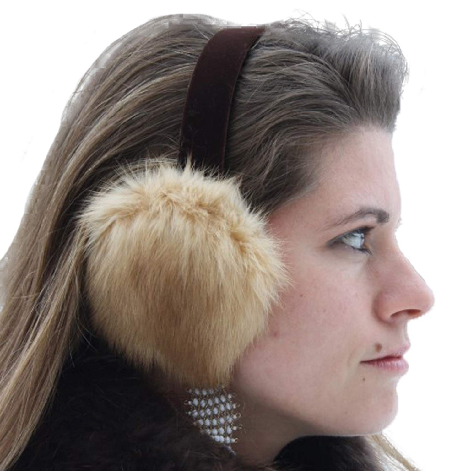 Glacier Wear Golden Sable Ear Muffs - mff1251