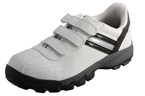 DDTX Zapatillas de Seguridad Hombre con Punta de Acero Calzado de Trabajo Comodos y Ligeros Transpirables Blancas Negro: Amazon.es: Zapatos y complementos