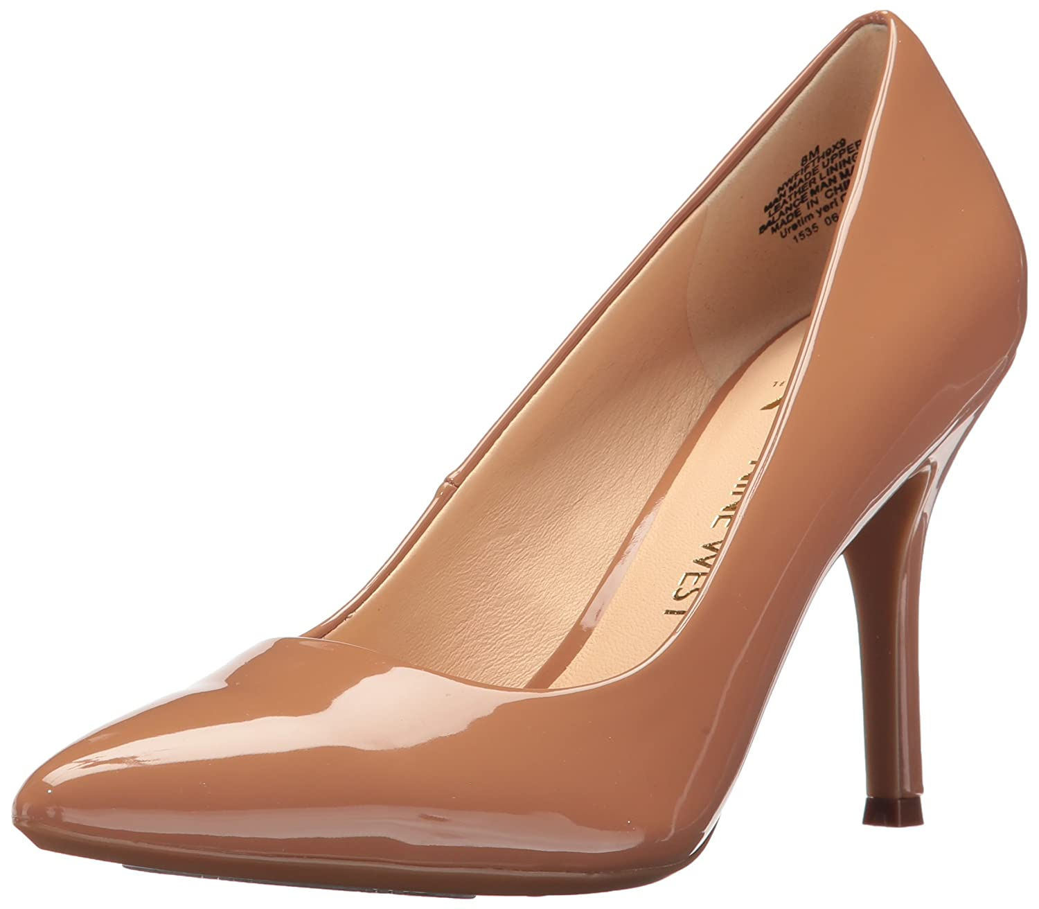 Nine West Women's FIFTH9X Fifth Pointy Toe Pumps B01MXTOLFQ 8 B(M) US|Dark Natural Synthetic