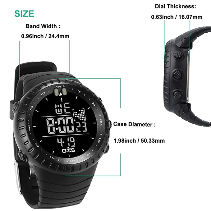 Men's Watches Watches Candid Top Brand Mens Sports Watches G Style Military Waterproof Wristwatches Shock Analog Quartz Digital Watch Men Relogio Masculino