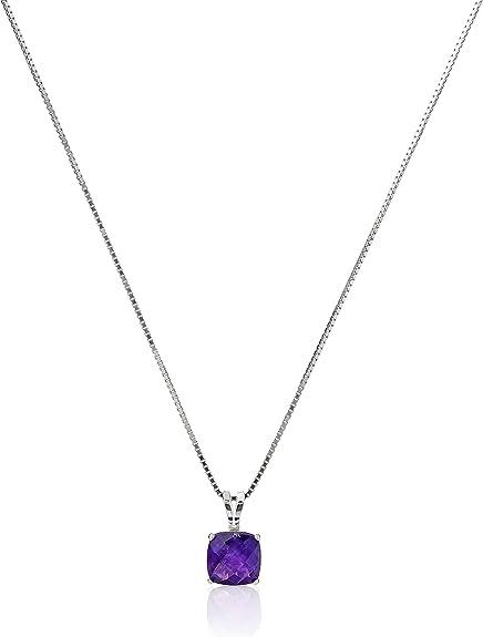Silvertone Infinity Chakra Colgante Collar Con Piedras Preciosas