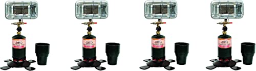 Texsport Sportsmate Portable Propane Heater Pack of 4