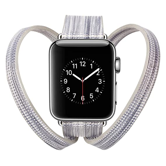 Amazon.com: For Apple Watch Bands 38mm Replacement Love Long ...