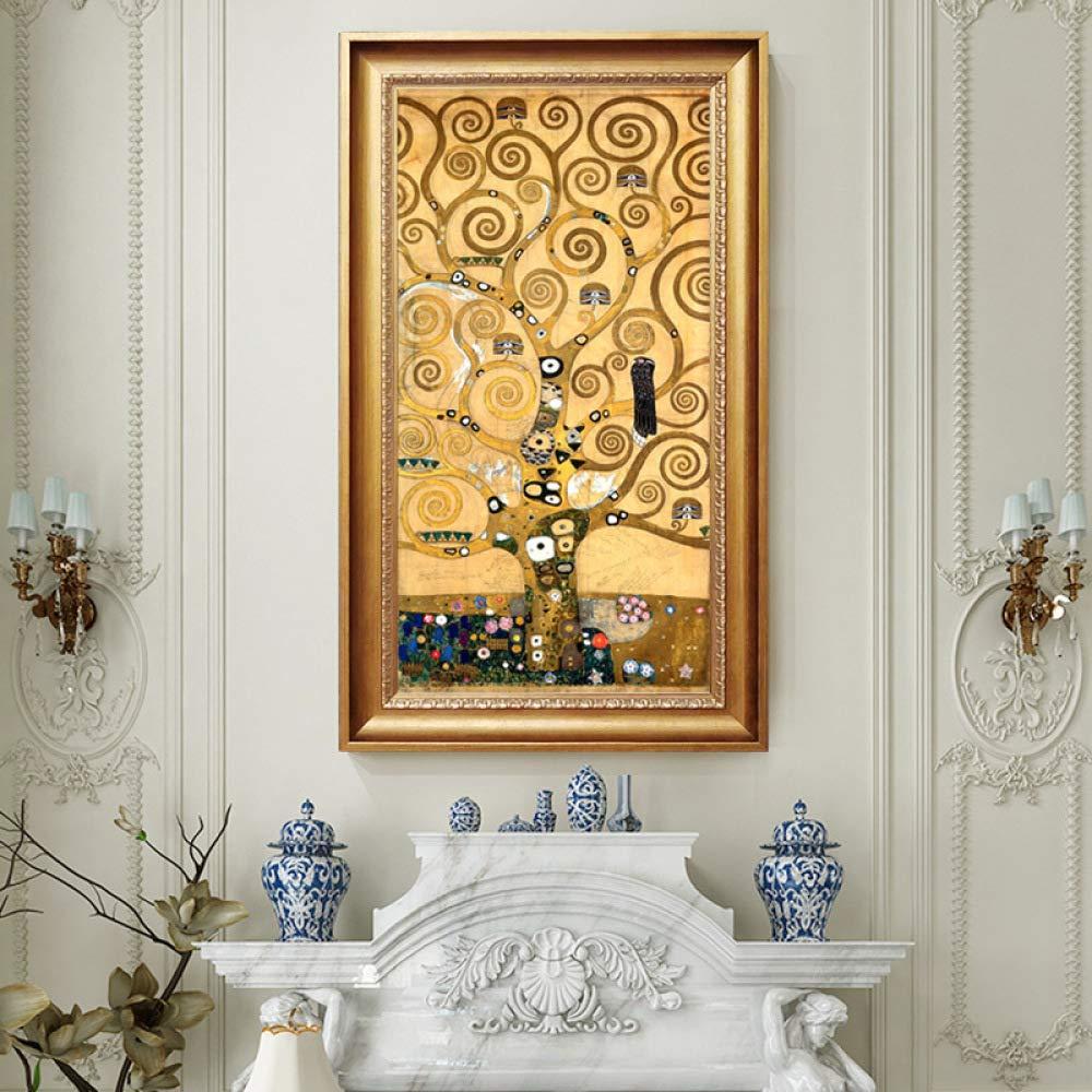 Arte Sweety Frameless Olio Pittura Camera Da Letto Verticale Edizione Decorazione Pittura Klimt Pittura Olio Dellalbero Di Vita Casa E Cucina Tourism Vratsa Net