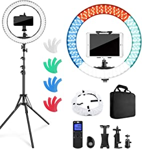 Pixel Ring Light with Stand and Remote Controller,19