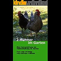 2 Hühner im Garten: Eine Kurzanleitung zur Hühnerhaltung im Garten