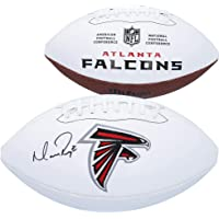 $199 » Matt Ryan Atlanta Falcons Autographed Wilson White Panel Football - Autographed Footballs