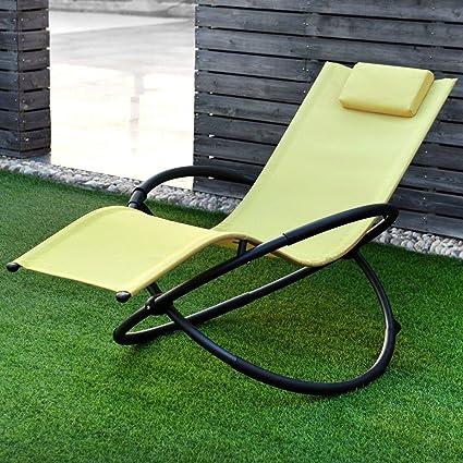 Brilliant Amazon Com Colorful Patio4U Lounge Chair Folding Zero Caraccident5 Cool Chair Designs And Ideas Caraccident5Info