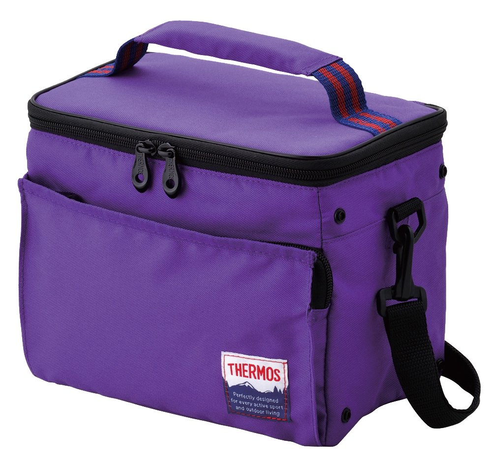 Thermos Soft Cooler Bag 5L, Purple (RDR-005 PL) by Thermos