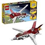LEGO 31086 Creator 3-in-1 Futuristic Flyer Building Kit, Colourful