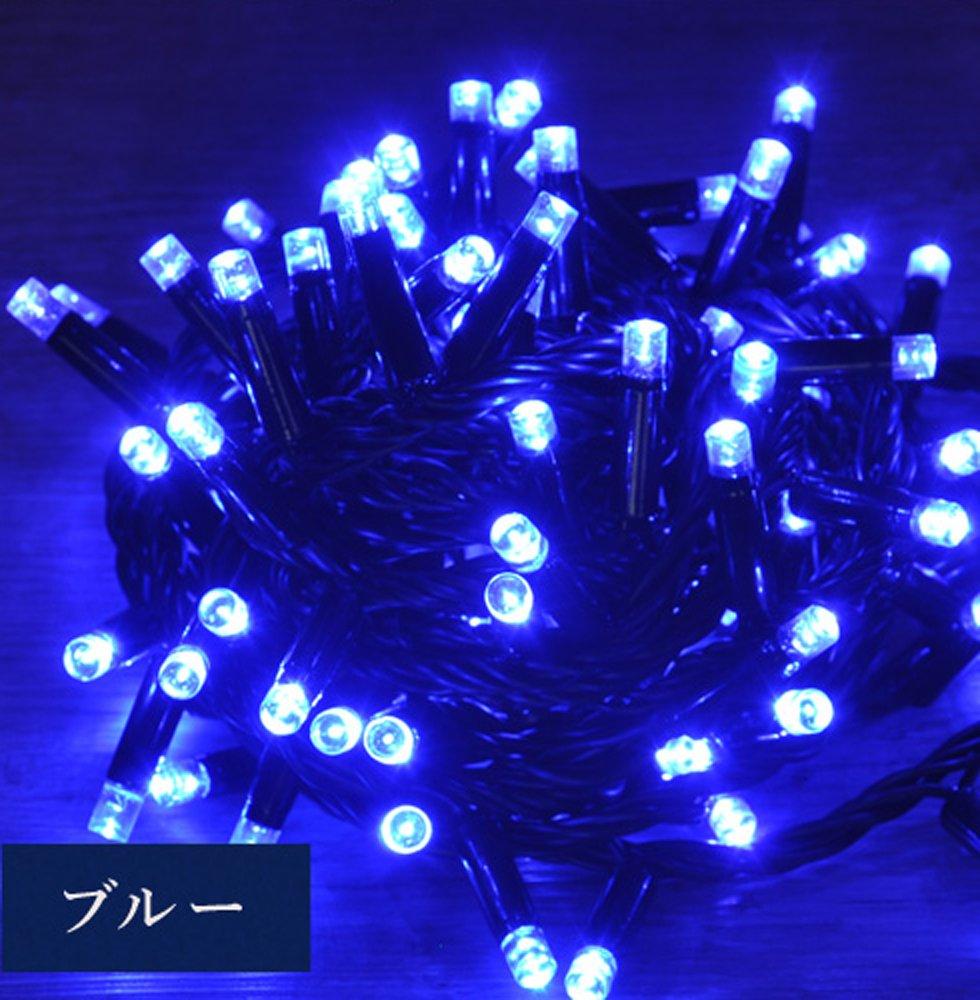 iimono117 高輝度 LED イルミネーション [ 6m ~ 120m ] 完全防水 IP65 屋内外装飾 (120m(2000球), ブルー) B076D7WW7P 12400 120m(2000球)|ブルー ブルー 120m(2000球)