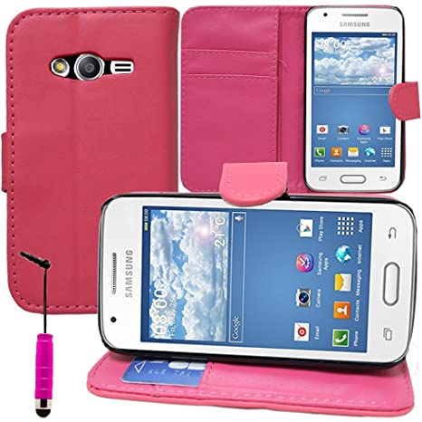 Samsung Galaxy Trend 2 Lite SM-G318H funda HCN Phone® Funda Cartera con tapa