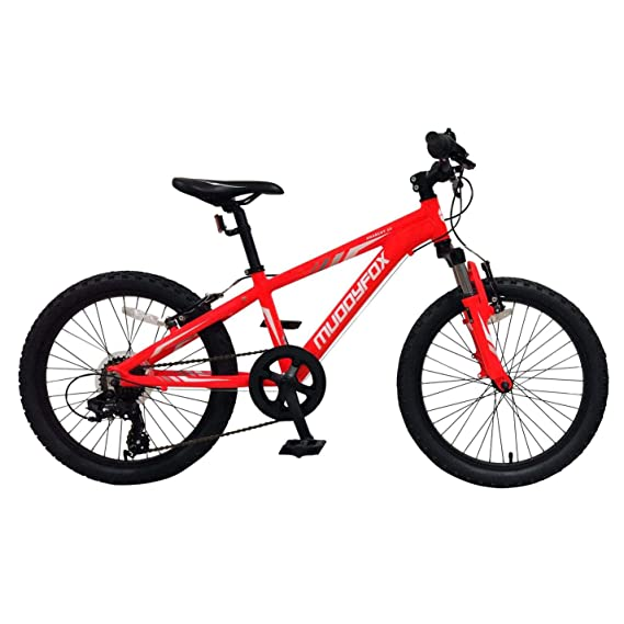 Boys 20 Inch Bike >> Muddyfox Boys Anarchy 20 Mountain Bike Red 20 Inch Amazon