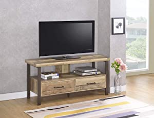 Coaster Home Furnishings 48-inch 2-Drawer Weathered Pine TV Console