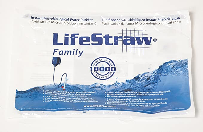 LifeStraw Wasserfilter Family Water Filter, Sports and Outdoor ...