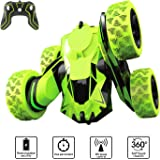 Apsung Remote Control Stunt Car RC 4WD Off Road Rechargeable 2.4Ghz 3D Deformation Racing Car,Double Sided Rotating Tumbling 360°Flips Off Road High Speed 7.5Mph Truck,RC Cars for Kids,Best Gift for Boys and Girls