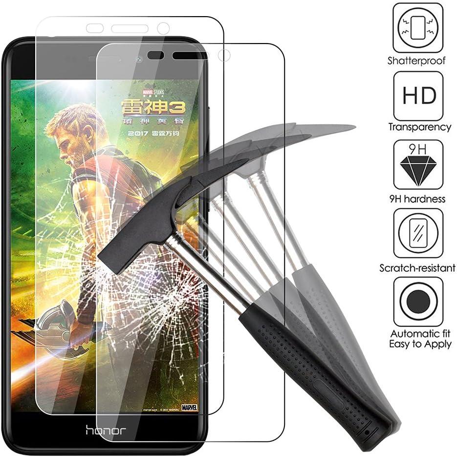 EJBOTH 2X Huawei Honor 6C Pro Protectores de Pantalla, Vidrio ...