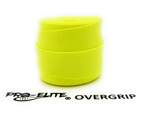 overgrip Pro Elite Confort Perforado Amarillo Flúor: Amazon ...