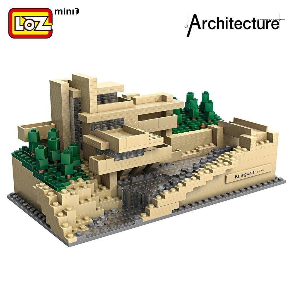 LOZ Mini Block World Famous Architecture Series Falling Water 1016