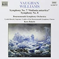 "Symphony No. 7 ""Sinfonia Antartica""/ Symphony No. 8 in D Minor"