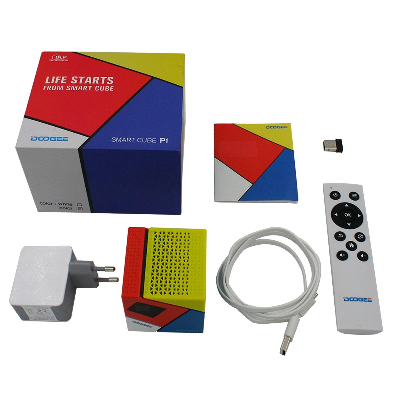 Build Excellent® Doogee P1 portátil DLP proyector proyector de ...