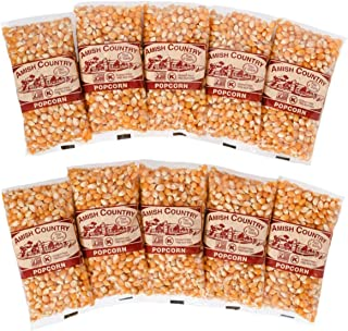 product image for Amish Country Popcorn   10 - 4 oz Bags   Mushroom Popcorn Kernels   Old Fashioned with Recipe Guide