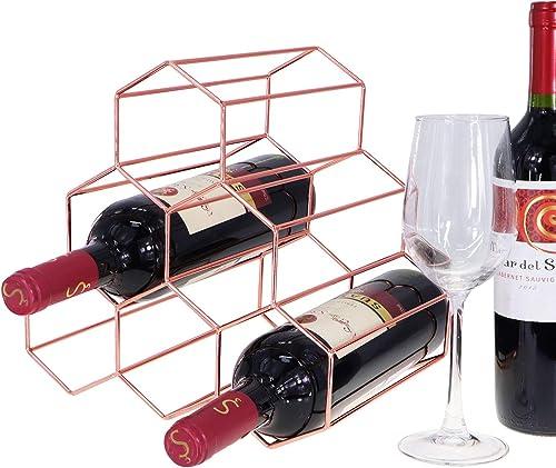 Tabletop Honeycomb Wine Rack
